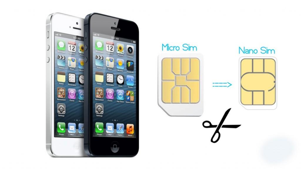 Как сделать сим карту для iphone 5s