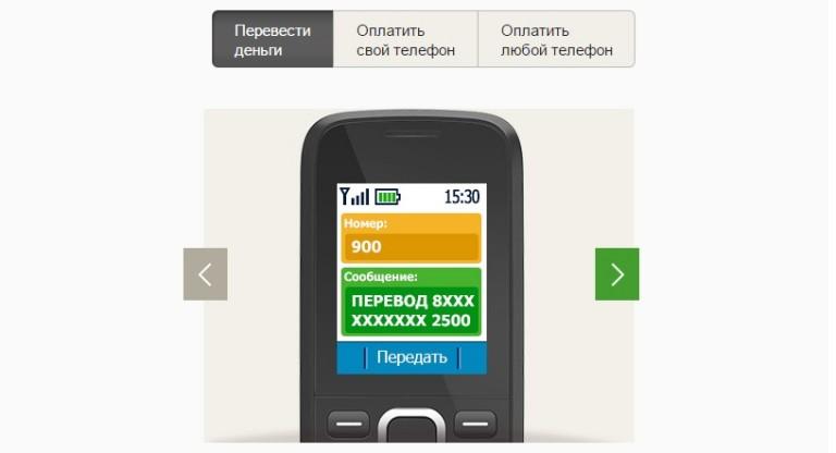 Как сделать перевод денег через мобильный денег