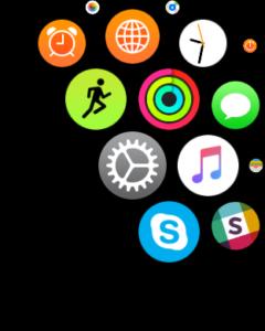 Настройки Apple Watch