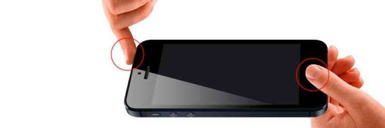 как выкключить айфон 5 если он завис