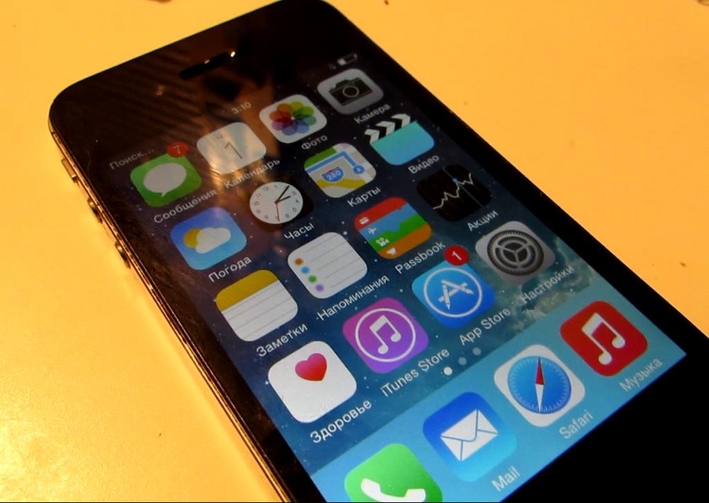 Айфон 4s видео инструкция